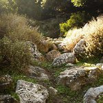 Rocks of aposelemis canyon