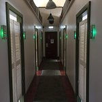 進房間之前的長廊
