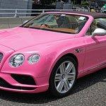 Bentley, Pink License Plate Goddess