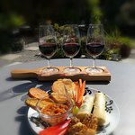 Tasting Paddle with Mini Snack Platter