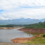 Anaiyirangal Reservoir - view from boating point