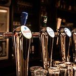 Verschillende biertjes van de tap - wisselend assortiment