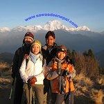 Group photo @PoonHill,Ghorapani ,Nepal.