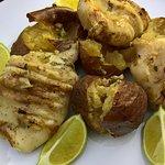 Calamari with potatoes