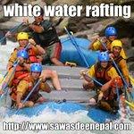 we do arrange white water Rafting by Sawasdee Nepal.