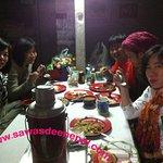 Group Dinner  photo @ Annapurna base camp.