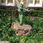 Tinkerbell at Epcot World Showcase