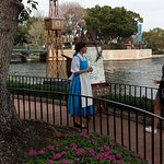 Belle at Epcot World Showcase