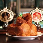 Our homemade Yorkshire puds...