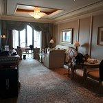 Il salotto della Khaleej Suite