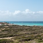 Looking down the West coast of Aruba