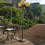 Terrasse de  l'hôtel Hélianthe à Lourdes