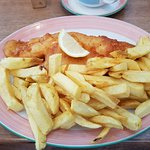 What more can I say! Fish and chips at their best,