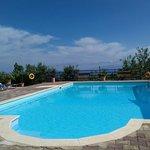 Pool area, lourdas beach ,pool bar grill