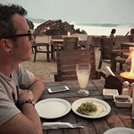 Beach dinner @ El Alquimista