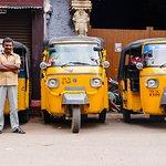 Auto Rickshaws do Sul da Índia