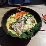 Vegetable Laksa soup