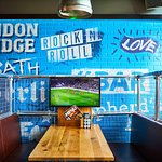 Your very private booth to watch all the sport live