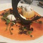 The Dining Room starter - Salmon