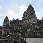 Central Temple Structure in Angkor Wat