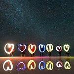 Salar de Uyuni - Noche, entretenimiento con luces de neon