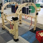 Our Rigamajig allows guests to build anything their imaginations can think of!