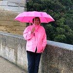ברוריה עם המטריה