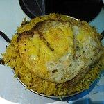 Kadai Chicken Biryani