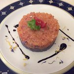Tartare of smoked trout