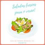 Prepare-se para o Verão! Desfrute das nossas saladas e sinta-se leve.