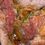 """""""MED- WELL"""" Bison Burger"""