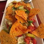 Texan nachos--hot!!!!!