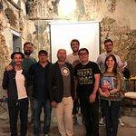 Giuseppe Veneziano Presenta MASH UP con il team del Civico 111, Vincenzo Callea e Mario Venuti