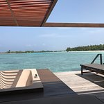 View from Water Villa
