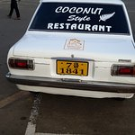 Vehicle coconut style restaurant