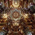 Stunning ceilings....