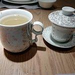 Jasmine tea at Man Ho Restaurant