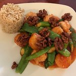Walnut Shrimp & Scallops