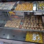 Kaju Sweets and Jalebi