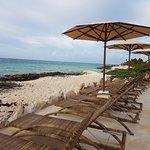 Playa conservada lo mas natural posible