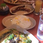 Great breakfast at snooze