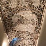 Mosaics on the ceilings
