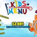 kids special menu