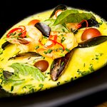 MUSSELS AND LANGOSTINES CURRY