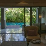 The Ritz-Carlton Suite With Pool Access Living Area