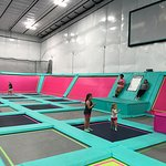 Shell We Bounce Trampoline Court