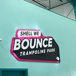 Shell We Bounce Sign