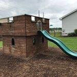 Hopkins Farm Creamery Castle Slide