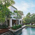 Garden Villa With Private Pool Exterior