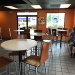 Rehoboth Taco Bell Interior MOSTLY High-Top Tables